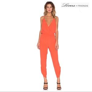 LOVERS + FRIENDS SPAGHETTI STRAP JUMPSUIT